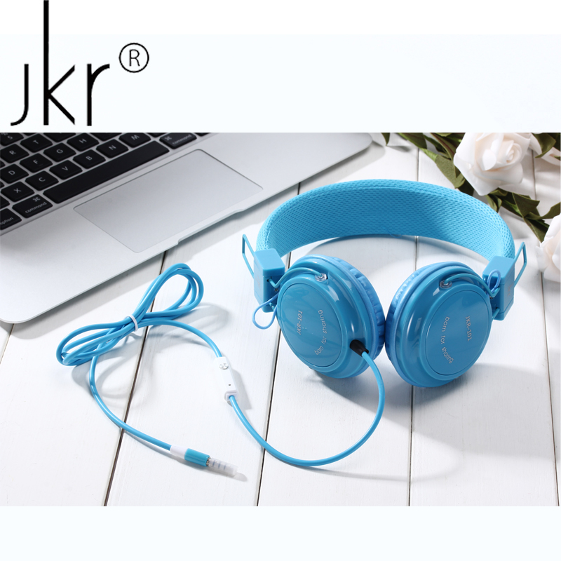 JKR Hifi Casque Audio Big Wired Gaming Earphone For Phone Computer Player Headset Headphones With Mic Head Auricular Sluchatka hifi head casque audio big wired gaming earphones for phone computer player headset and headphone with mic auricular pc kulakl k
