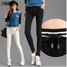 #2817 2019 Spring Summer Harem Pants Women Casual Fashion Thin Trousers Women White/Black Leggings Joggers Women Pantalon Mujer