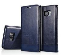 Lederen Case voor Iphone X 5 5 s Se 6 6 s 7 8 Plus Samsung S6 S7 Edge S8 Note 8 7 5 Zachte Portemonnee Flip Cover Card Man Lady Smart tas