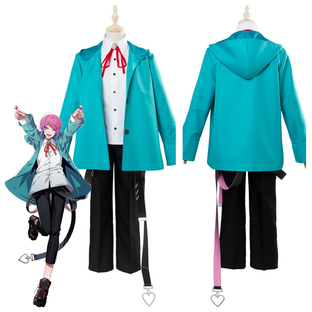 Division Rap Battle DRB Amemura Ramuda Cosplay Costume Uniform Outfit Halloween Carnival Costumes Full Set Custom Made