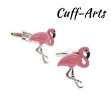 Cufflinks for Mens Flamingo Cufflinks Shirt Cuff links Gifts for Men Gemelos Les Boutons De Manchette by Cuffarts C10276