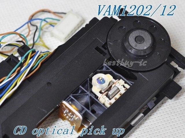 VAM1202/12 avec micro optique CD mécanique VAM1202 VAM1202 /1201 lentille laser à tube rond pour lecteur CD phil ps
