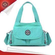 JINQIAOER Marke frauen Solide Nylon Wasserdichte Handtasche Umhängetasche für Frauen Reisen Damen Kupplung Weibliche Bolsa Casual