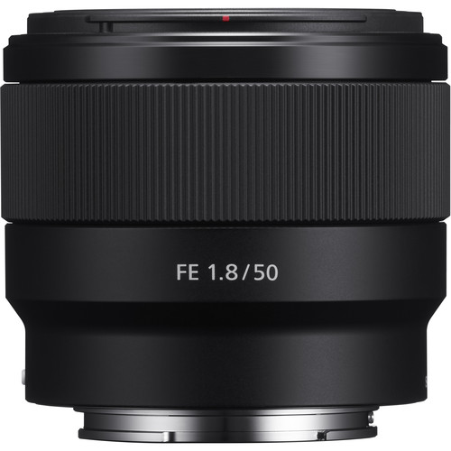 SONY 50mm Lens Sony FE 50mm F/1.8 Lens For Sony  A6500  A7III  A7RIII A7SII A9 ILCE-6500 7M3 7RM3  7SM2  9