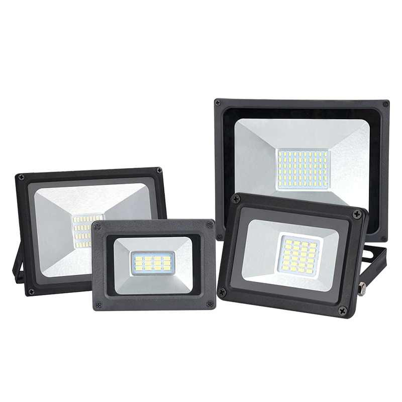 110V 220V LED FloodLight 10W 20W 30W 50W LED Flood Light Waterproof IP65 Spotlight Wall Outdoor Lighting Warm /Cold White
