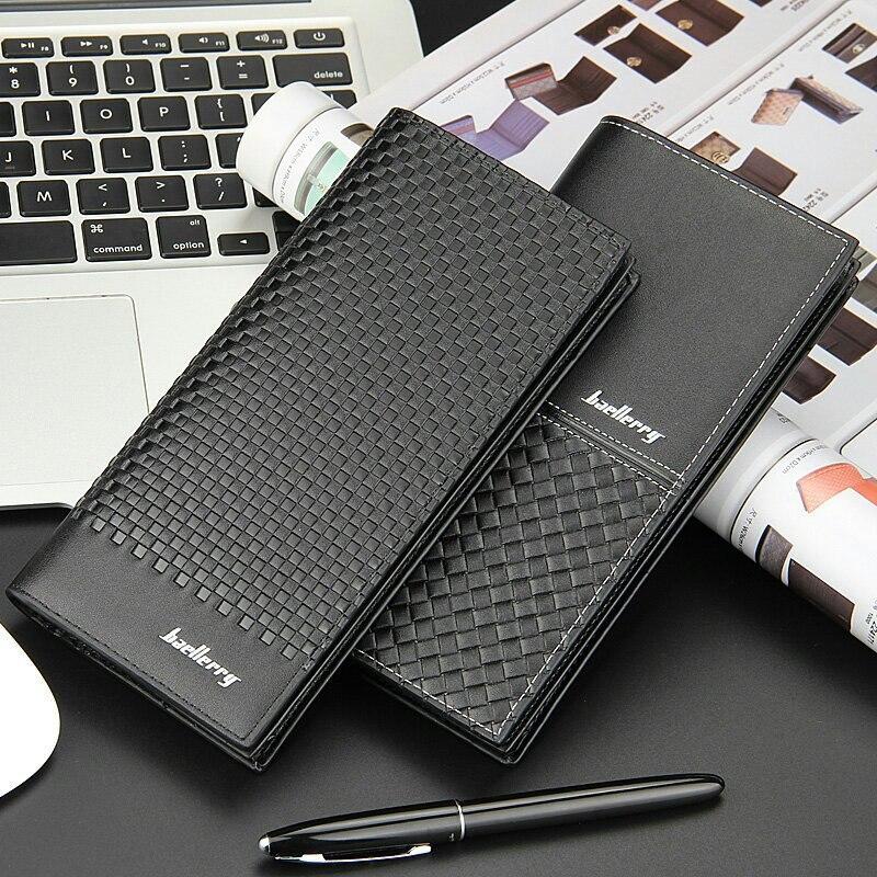 0b1cded701a2 ▻Baellerry кошелек мода Для мужчин бумажник мужской черный клатч из ...