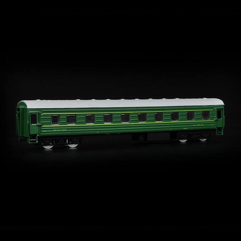 Flashing Musical Model Trains Alloy Toy Train Childhood Nostalgia Green Train Kids Toys