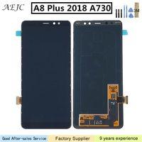 6 для samsung Galaxy A8 плюс 2018 A730 A730F A730F/DS A730x ЖК дисплей Дисплей Сенсорный экран планшета для samsung a8 плюс 2018 Экран