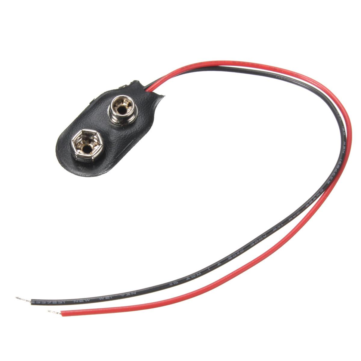 Circuito Rc : Soft shell batería de 9 voltios batería snap hebilla para placas de