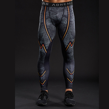 Adhemar The FLASH Skinny Leggings 3D Printed Pattern Compression Tights Pants Men Brand New Sweatpants Fitness Trousers Male