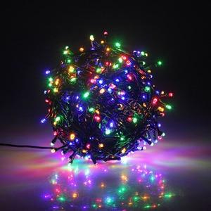 Image 1 - 10M 20M 30M 50M 100M 24V Veilige Spanning Groene Kabel LED String lights Kerst fairy Lights voor Xmas Bomen Party Bruiloft Evenementen
