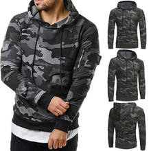 efea222141967 New Spring Fall Camo Hoodies Men Winter Soft Cotton Hooded Long Sleeve  Hoodie Smock Pullovers Casual