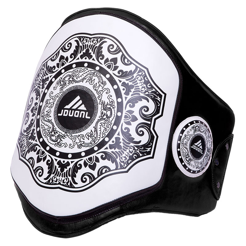 цены JDUanL Muay Thai Boxing Waist Training Belt MMA Sanda Karate Taekwondo Guards Brace Chest Trainer Support Fight Protector DEO