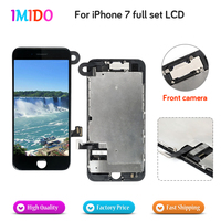 10PCS High Quality Full Set LCD For iPhone 7 OEM Display+Front Camera+Speaker+Digitizer Assembly Replacement 3D Touch LCD Screen