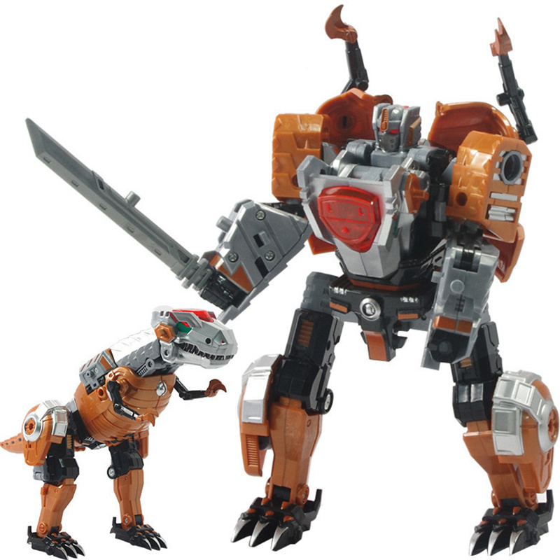 Anime Robot: Aliexpress.com : Buy 5 In 1 Dinosaur Transformation 4 Toys