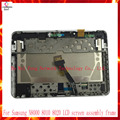For Samsung Galaxy Note 10.1 N8000 N8010 N8020 Full LCD Display Panel Monitor+Touch Screen Digitier Assembly with Frame+tool