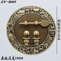 180mm Chinese antique furniture pull Copper cupboard Entrance Cabinet handle Doorplate door Retro handle Decoration Round lock
