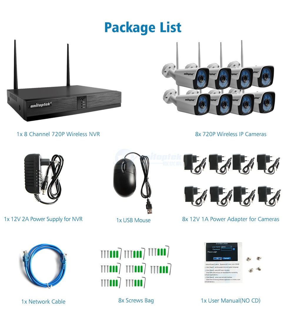 13 security camera kit