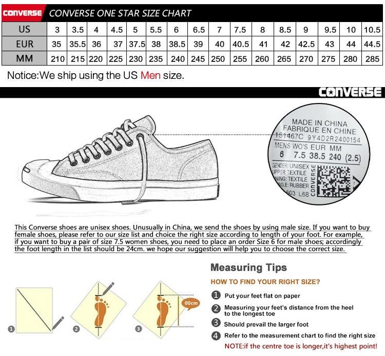 Converse Shoe Sizes Chart Solidique27