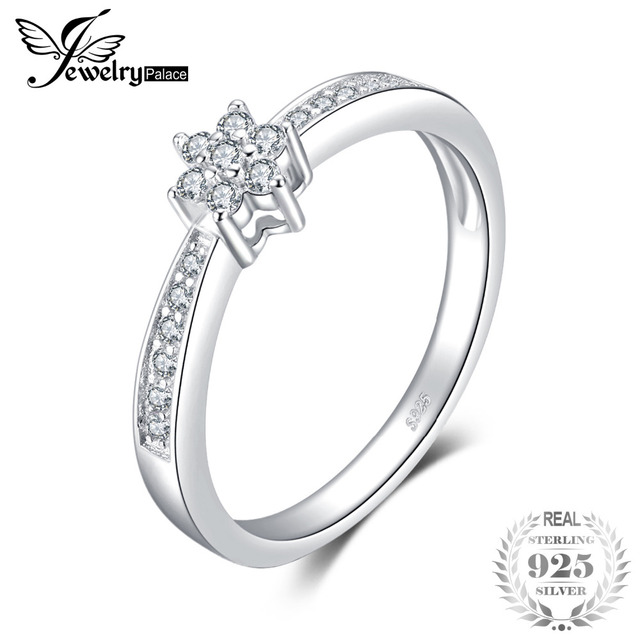 Jewelrypalace Classic Fashion Engagement Ring 925 Sterling Silver