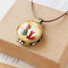 Fairy tale the prince and fox necklace pendant photos of aromatherapy oil box