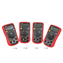 цена на UNI-T UT136A/B/C/D Mini Digital Multimeter AC/DC Voltmeter Ammeter Multi Testers Auto Power Off with Diode HandHeld Multimeter