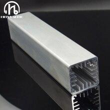 DIY 4 см вентилятор спаривания ветровой туннель радиатор высокой мощности цепи рассеивания тепла 40*40*200 мм