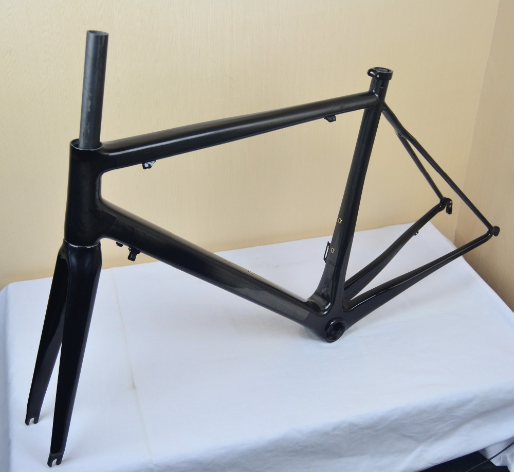 lightweight carbon road frame t1000 frame glossy finish carbon fiber bicycle frame road bike frame