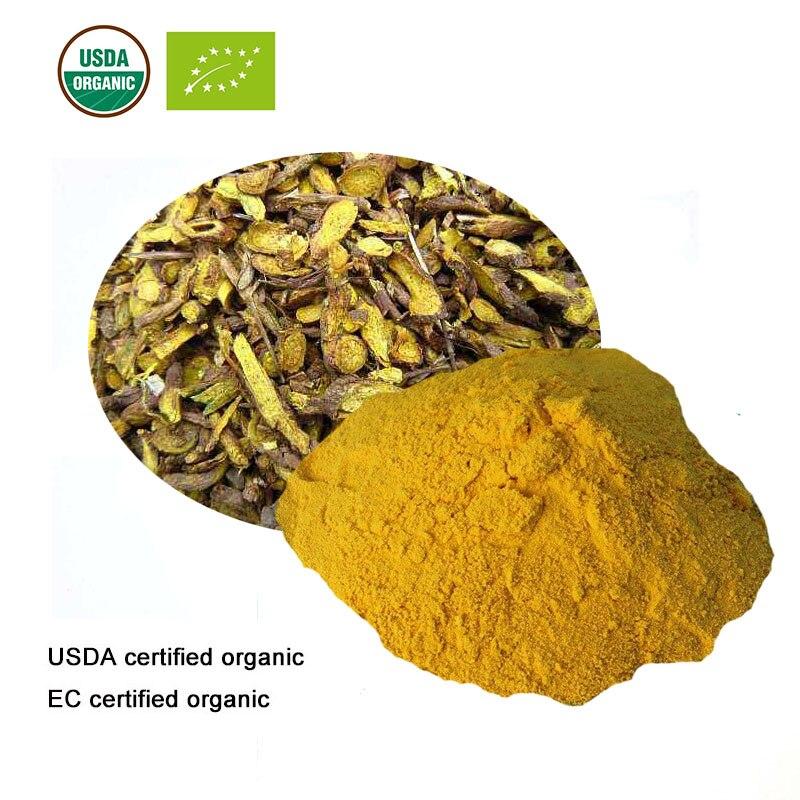 Diplomatisch Usda Und Ec Certified Organic Baical Extract10 1 Baicalin Baicalein Wogonin Schönheit & Gesundheit