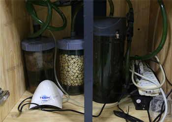 Pre filter ถังกรองภายนอกอุปกรณ์เสริม quick release couping 12/16 มม.16/22 มม.ท่อ aquarium fish tank