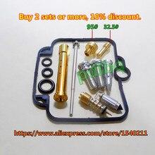 (1 set $ 18.5)Bandit 400 (GSF400) GK75A Mikuni carburetor repair kit Configuration Jet needle (J.N.) and Needle jet (N.J.) цена