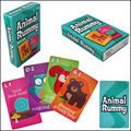 5 Kinds Picture Literacy Board Game, English Cards Game For Children See Figure Of Knowledge, Puzzle Game With Free Shipping