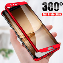 Luxury 360 Degree Full Cover Phone Case For huawei P10 P9 P8