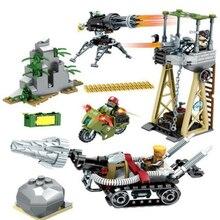 Military Special Force Base Building Blocks Sets Bricks Models Figures Toys