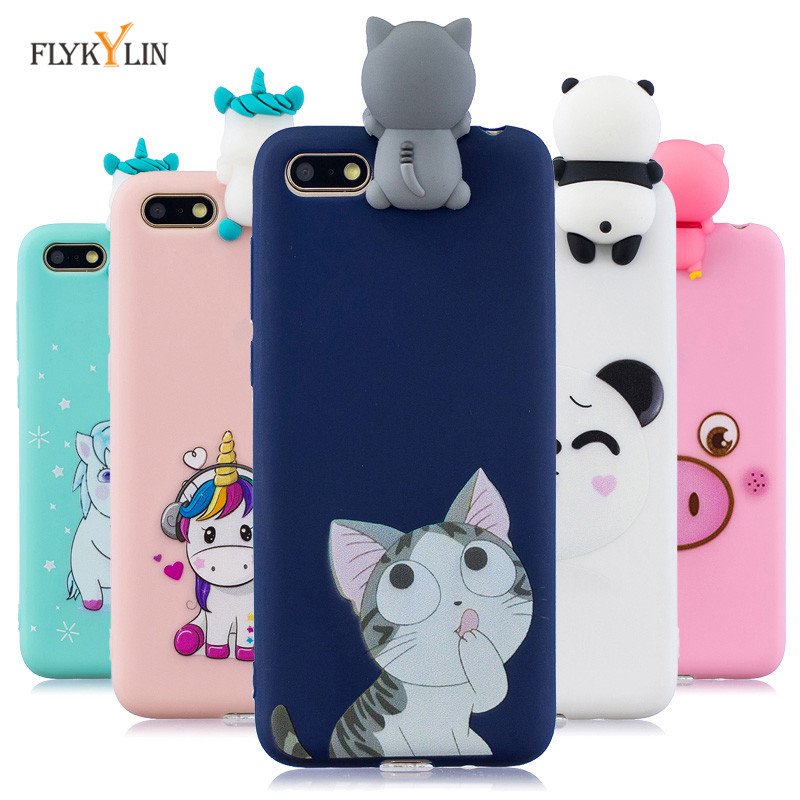 <font><b>Honor</b></font> <font><b>7A</b></font> Silicone Case on sFor Huawei <font><b>honor</b></font> <font><b>7A</b></font> <font><b>DUA</b></font>-<font><b>L22</b></font> 5.45 inch Case for Huawei Y5 Y5 Prime 2018 Case Cover <font><b>3D</b></font> Soft Phone Cases image