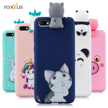 Honor 7A Silicone Case on sFor Huawei honor 7A DUA-L22 5.45 inch Case for Huawei Y5 Y5 Prime 2018 Case Cover 3D Soft Phone Cases case on honor 7a 5 45 back galss case for huawei y5 2018 customized photo glass case for y5 prime y5 lite 2018 covers honor 7a