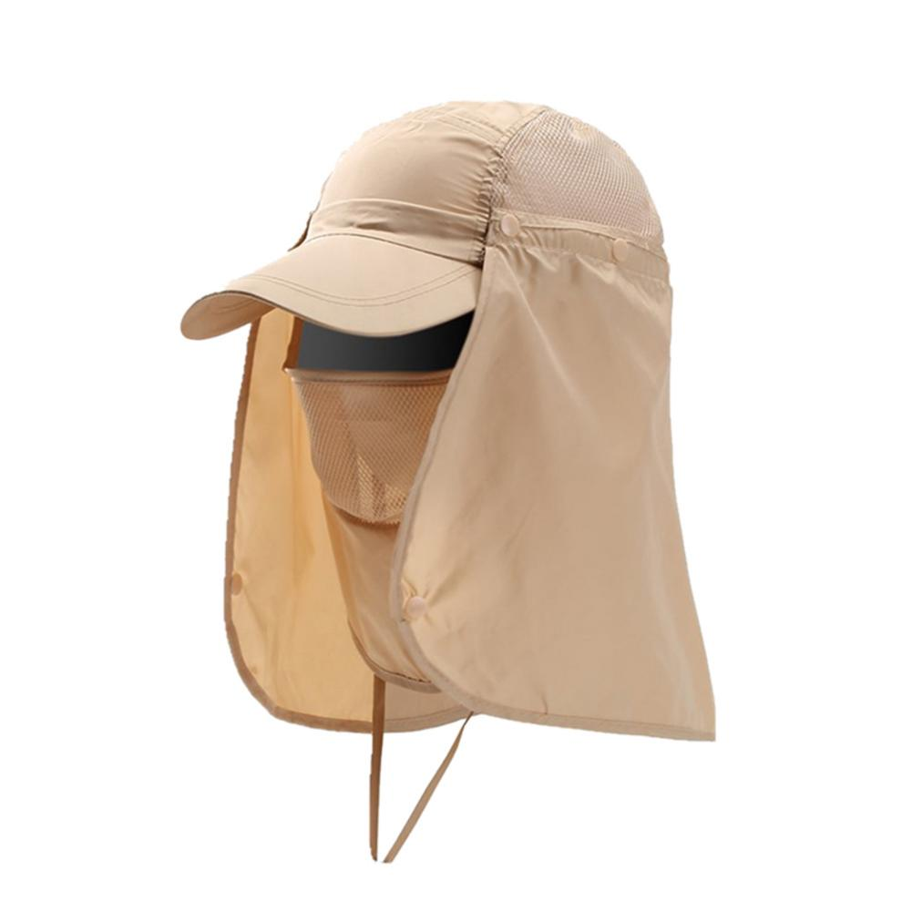 Fishing Cap Men Women Face Neck Cover Sunshade Hat Summer Outdoor Camping Hat