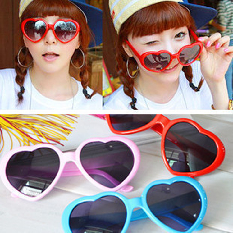 LOVINGFANG Gafas de sol con forma de corazón UV400 Gafas de sol - Accesorios para la ropa - foto 2