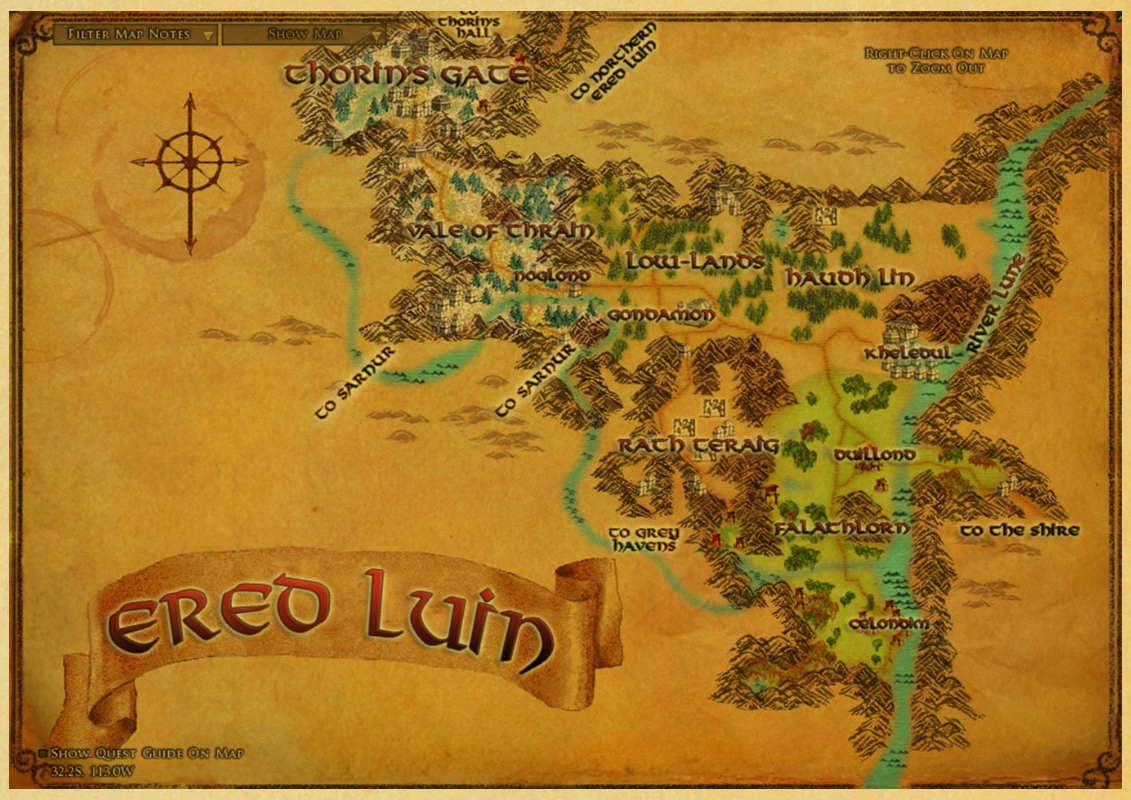 Dropwow Middle Earth Map On Lord Of The Rings World Map Vintage