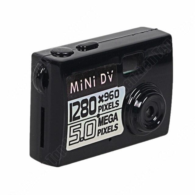 Новое Прибытие Thumb Камера Черный Mini DV DVR Видео Motion Sound Camera Recorder Смешно Небольшой Цифровой Камеры Видеокамеры