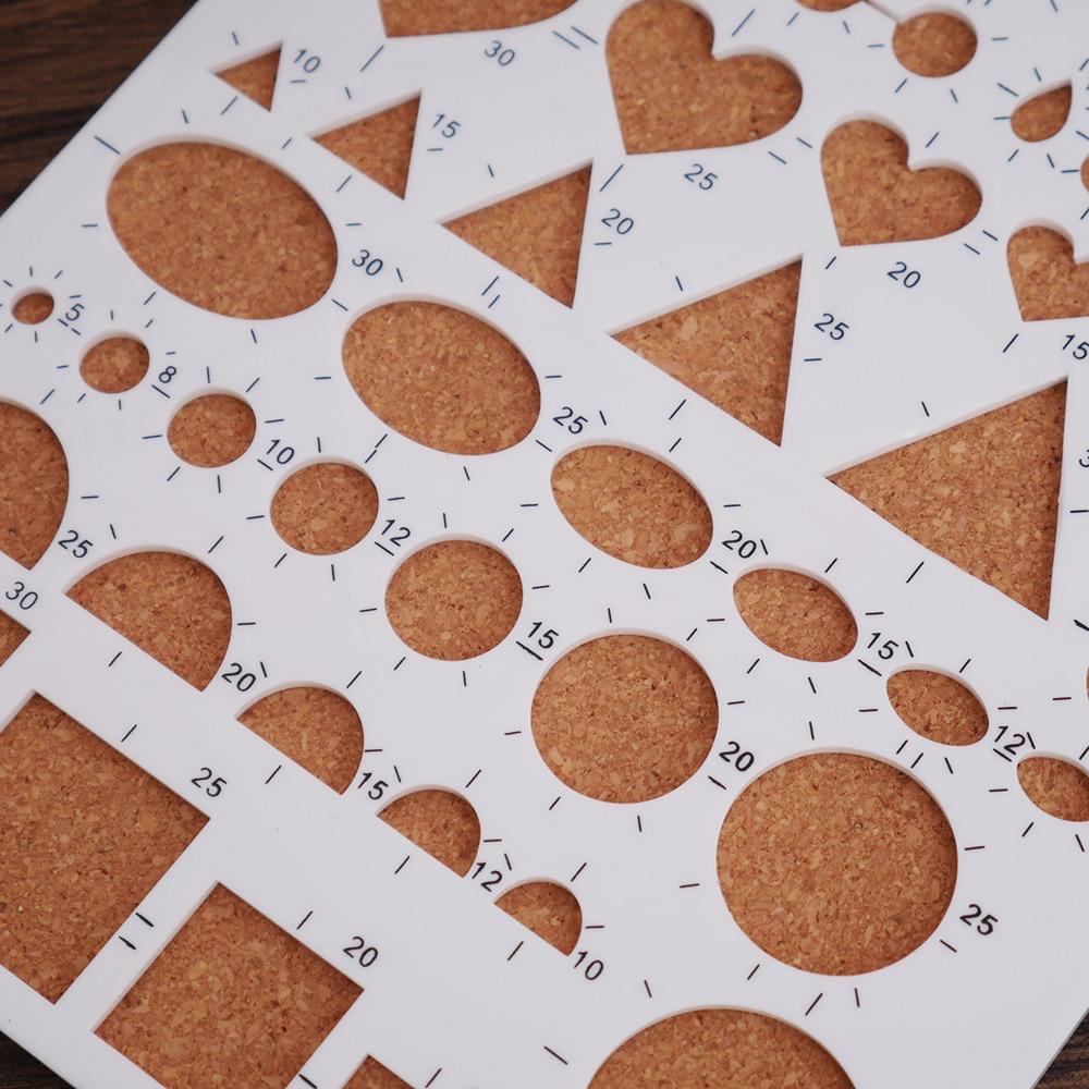 Paper Quilling Template Mould Board Papercraft Diy Crimper Art Tool