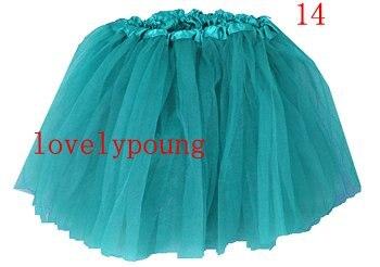 Дешевые юбка-пачка, юбка для девочки в акционной цене, девушки юбка - Цвет: blue