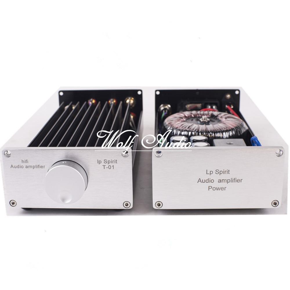 LP Spirit Pure Class A 1969 Amplifier Computer Desktop Mini Merge Split Type HIFI Audio Power Amp