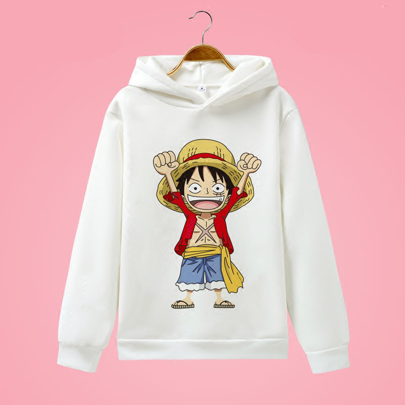One Piece Luffy Hoodie Anime Sweatshirts: Wholesale Price HOT Anime One Piece Brand Men Hoodie