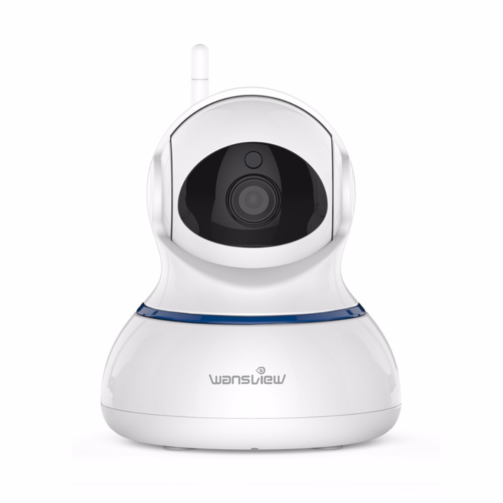 US $49 83 29% OFF Wansview 1080P Wireless IP Camera WiFi HomeSecurity  Surveillance Camera Baby Monitor Pan/Tilt Two Way Audio Email Alarm RTSP  P2P-in