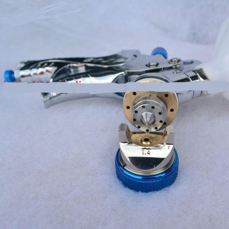 Spedizione gratuita HVLP SPRAY GUN alimentazione a gravità ugello - Utensili elettrici - Fotografia 6