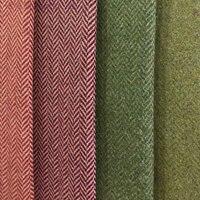 150 cm * 3 yards 11 renk balıksırtı yün + polyester kumaş rüzgar geçirmez yünlü kumaş moda kumaş için, ceket, pantolon, çanta, safa cov