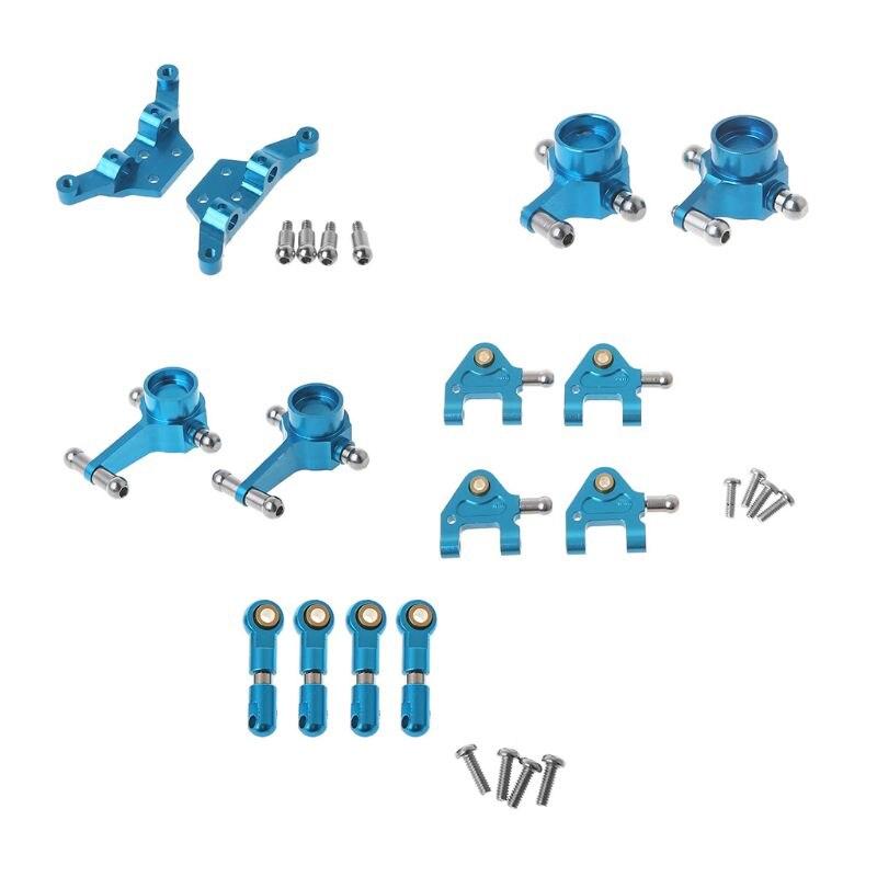 Amortisseur amélioré de bras d'oscillation de tasse de direction de pièces en métal pour la voiture de Wltoys P929 P939 k969 K979 K989 K999 1/28 RC