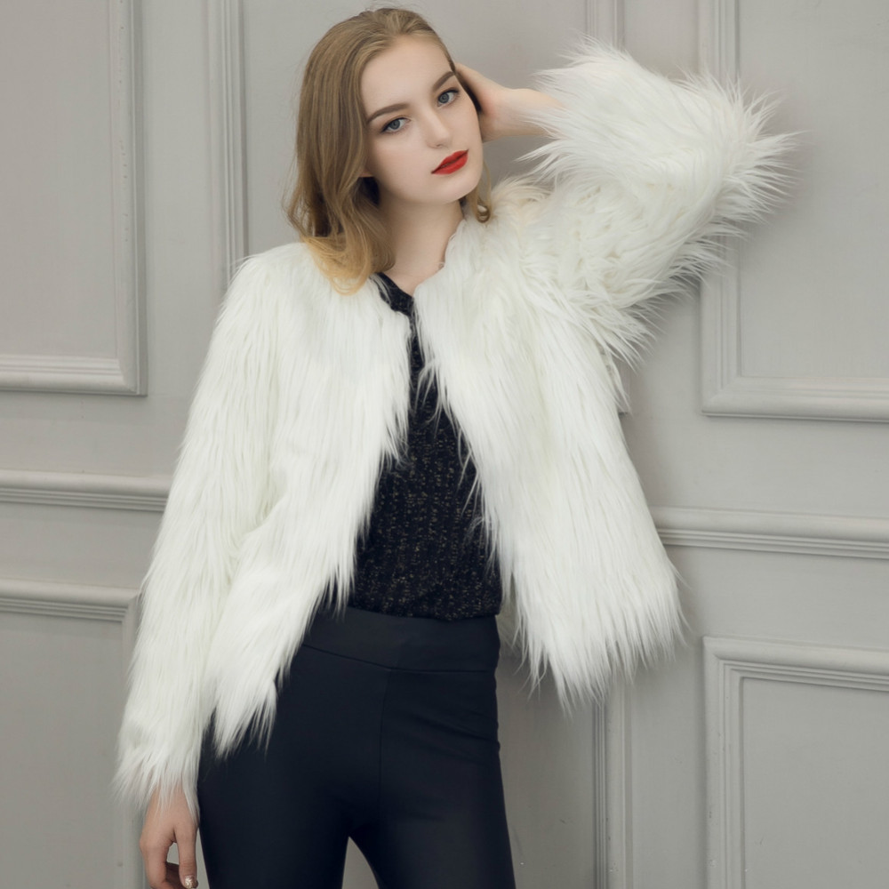 Chic Soft Faux Fur Coat 5