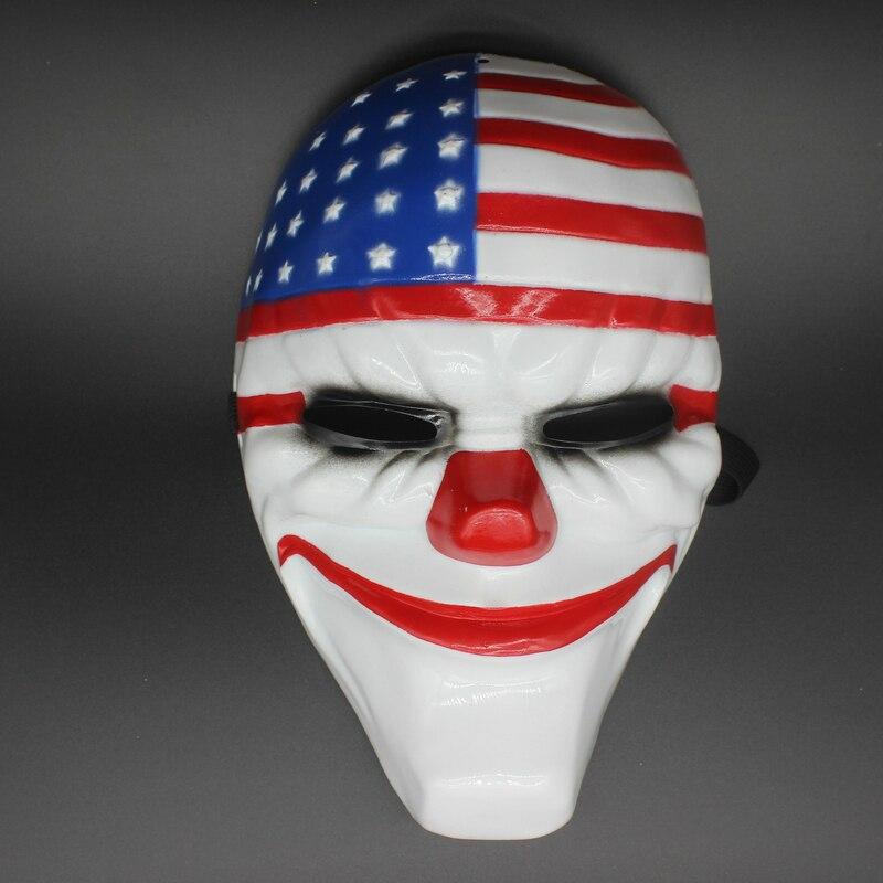 Payday 2 Masker Dallas masker / Wolf / Kettingen / Hoxton cosplay - Feestversiering en feestartikelen - Foto 2